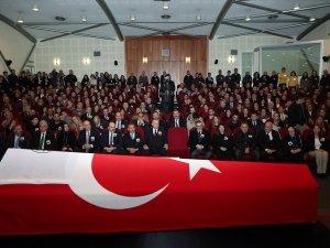 Cumhurbaşkanı Erdoğan, Dedeoğlu'nın cenazesinde
