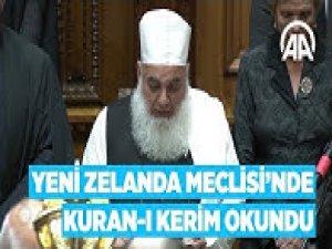 Yeni Zelanda Meclisi'nde Kuran ı Kerim okundu