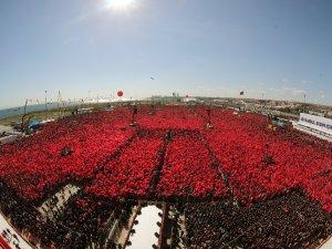 Cumhur İttifakı'nın tarihi İstanbul mitingi