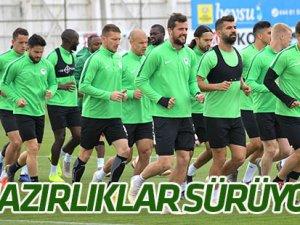 Konyaspor'da Sivas mesaisi sürüyor