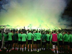 Konyaspor taraftarından destek