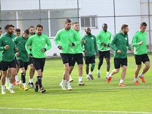 Konyaspor'da Ankaragücü maçı hazırlıkları