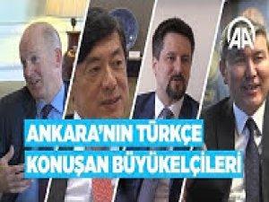 Ankara'nın Türkçe konuşan büyükelçileri