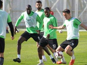 Konyaspor'da Galatasaray mesaisi başladı