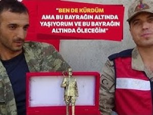 """Barış Pınarı Gazisi: """"Ben de Kürdüm"""